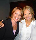 Michelle Phillips with Kate Couric