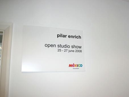 Pilar Enrich Open Studio Show 2008