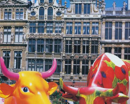 Art on Cows Brussels 2003
