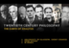 Twentieth century philosophy: The dawn of analysis, Short Courses, University of Glasgow