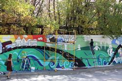 Gateway Community Mural, 2012