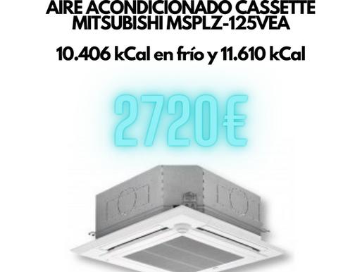 Aire acondicionado Cassette 10000 frigorías