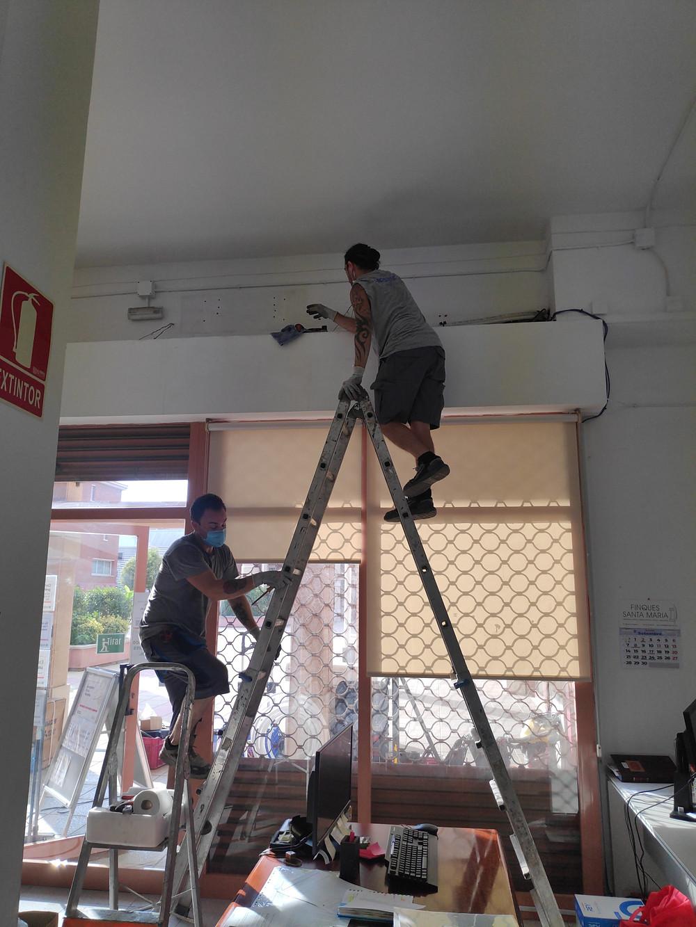Desmontar aire acondicionado