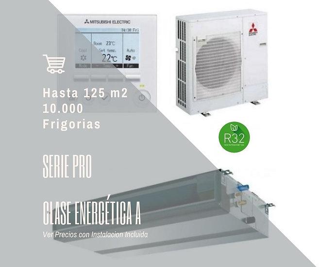 AIRE ACONDICIONADO POR CONDUCTOS MITSUBISHI ELECTRIC MGPEZ-125 VJA WIFI 10000 fg