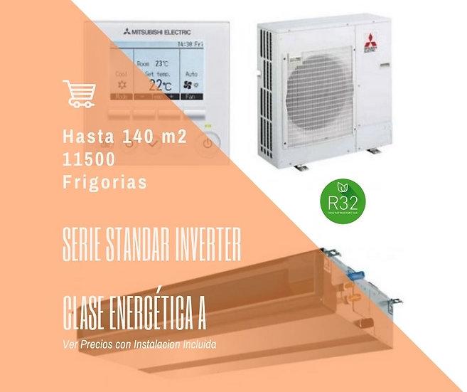 AIRE ACONDICIONADO POR CONDUCTOS MITSUBISHI ELECTRIC MSPEZ-140VJA WIFI 12500 fg