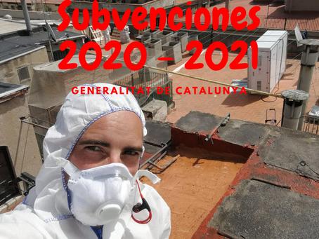 Subvenciones para retirar URALITA Catalunya 2020 - 2021