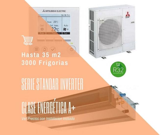 AIRE ACONDICIONADO POR CONDUCTOS MITSUBISHI ELECTRIC MITSUBISHI MSPEZ-35VJA WIFI