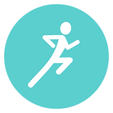 a symbol to represent running injury assessment services