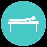 a symbol to represent sports massage services