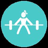 a symbol representing exercise prescription services