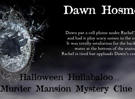 Halloween Hullabaloo Clue