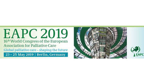 Focus sur le 16ème congrès de la European Association of Palliative Care (EAPC), Berlin 22-25/5/2019