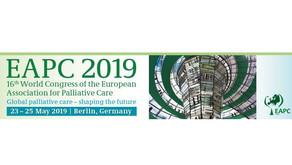 Focus sur le 16ème congrès de la European Association of Palliative Care (EAPC), Berlin 22-25/5/2019