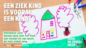 Slechts 1,7% van de ernstig zieke kinderen in het Brussels Hoofdstedelijk Gewest krijgt palliatieve