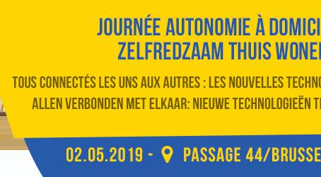 Sémiramis participe au #DayAutonomy le 2 mai 2019 à Brussels44Center