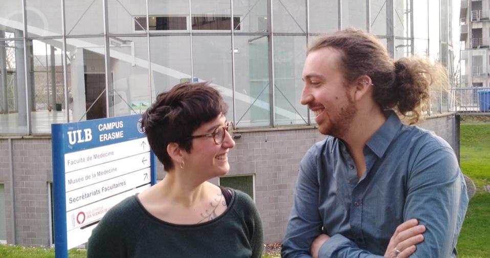 Noëmie Auger et Simon Elst ont partagé leur expérience de 1ième ligne en ce qui concerne la communication entre les services d'oncologie et les prestataires de première ligne