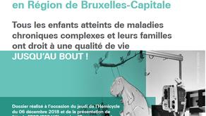 Dossier : les soins palliatifs pédiatriques en Région de Bruxelles-Capitale