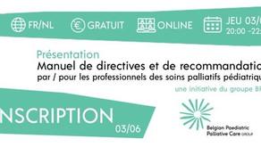 Directives pour les soins palliatifs pédiatriques, Online event 3 juin 2021