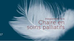 Inauguration de la Chaire en soins palliatifs à l'UCL, Bruxelles, 29 mars 2017