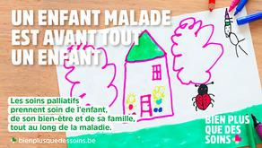 Seuls 1,7% des enfants gravement malades en Région bruxelloisebénéficient de soins palliatifs