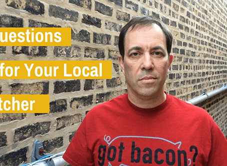 Ask Your Local Butcher: 5 Questions for Ehran