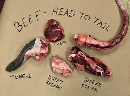 Beef: Head to Tail