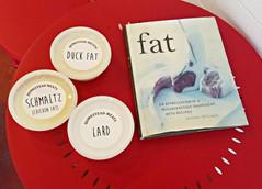 Lard, schmaltz and duck fat