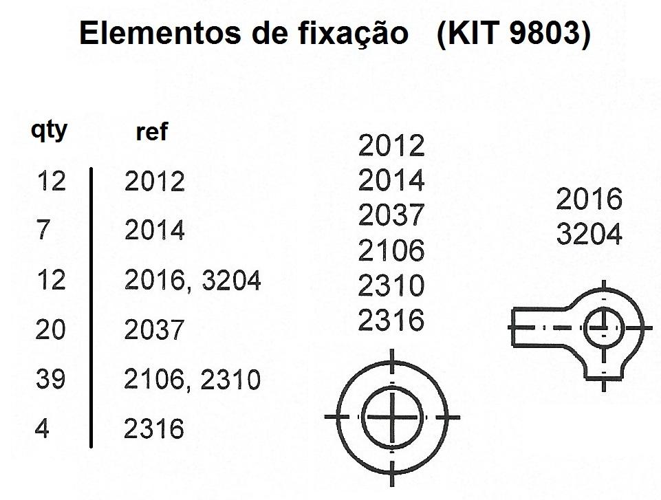 FIXATION SET 9803