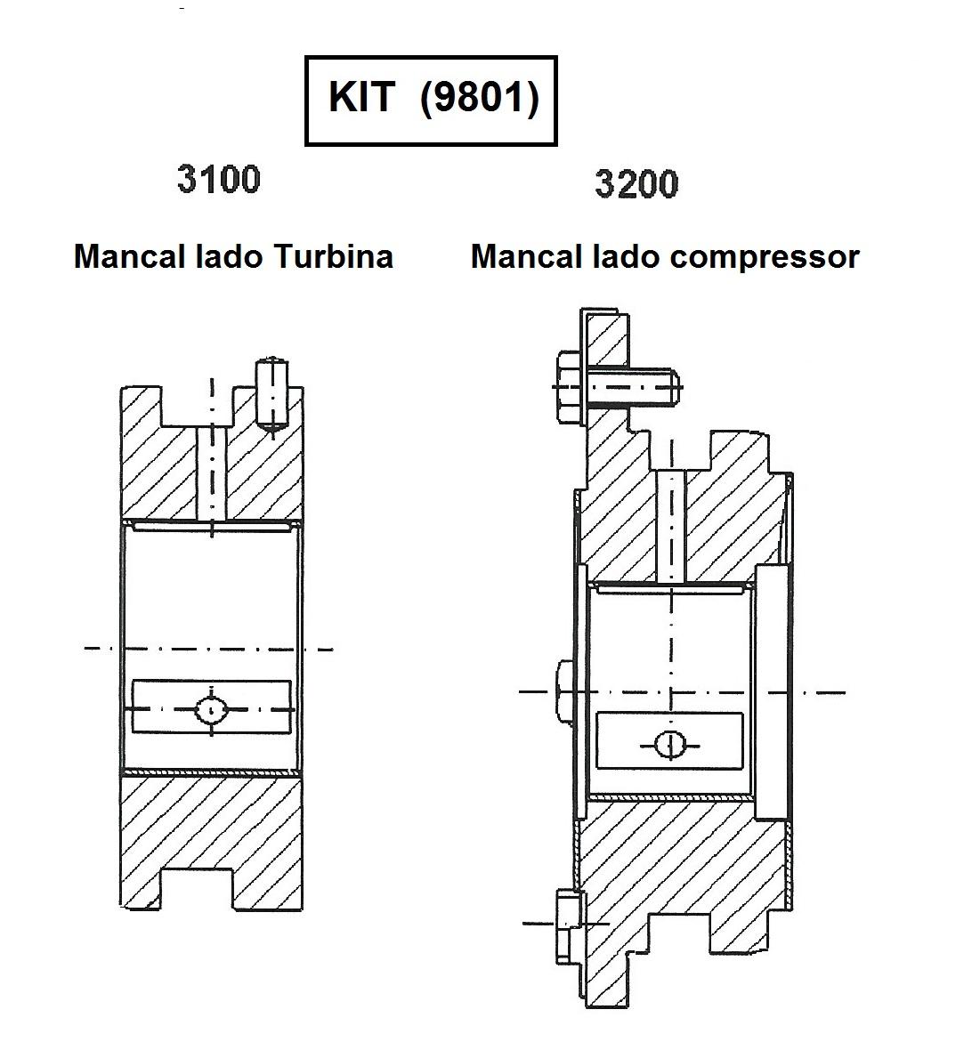 MANCAIS SET 9801