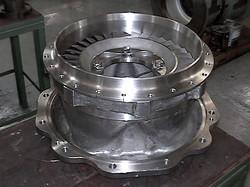GAS INLET  CASING H584