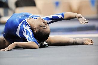 Twisters Recreational Gymnastics Program: Stretching Gymnast