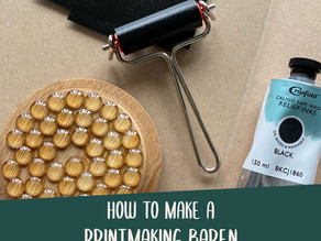 Make your own printmaking baren (step by step)