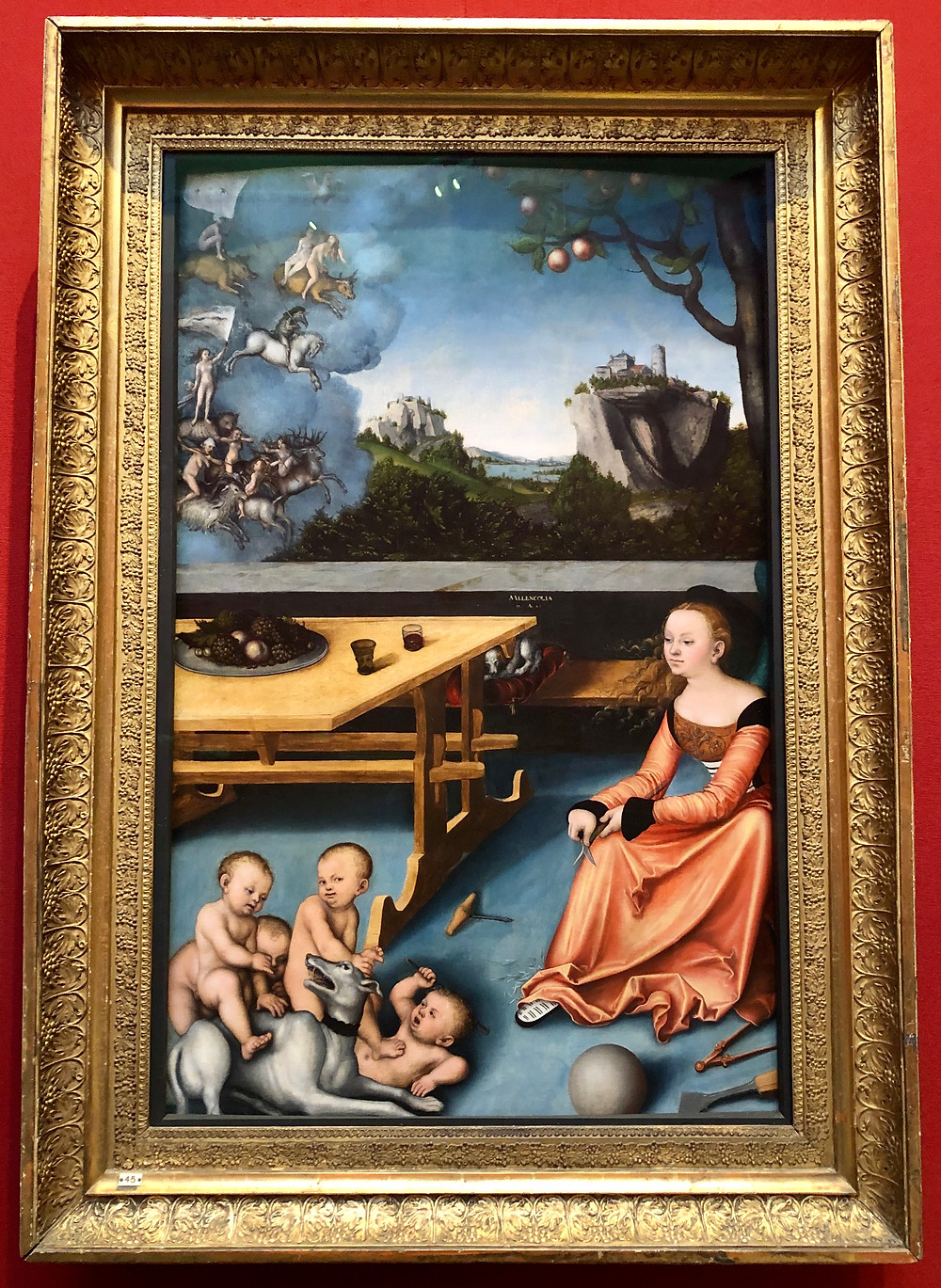 An Allegory of Melancholy lucas cranach artist scottish national gallery