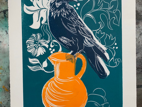 Meet the printmaker - Rachel Collier-Wilson