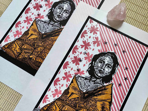 Meet the printmaker - Kiara at Kimacoprints