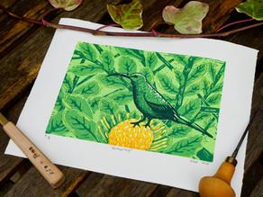 Meet the printmaker - Midori Prints