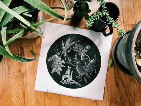 Meet the printmaker - BirchBones Art