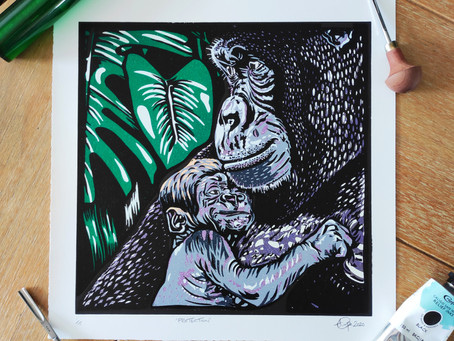 Meet the printmaker - Andrew Campe Artwork