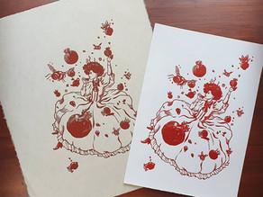 Meet the printmaker - HoneyThief Prints
