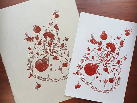 Meet the printmaker - HoneyThief Prints