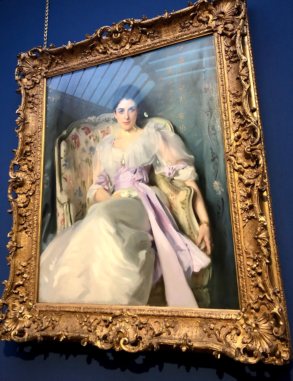 lady agnew of lochnaw John Singer Sargent portrait from scottish national gallery edinburgh