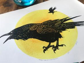 Meet the printmaker - Jane Constable at Inky Dog Studio