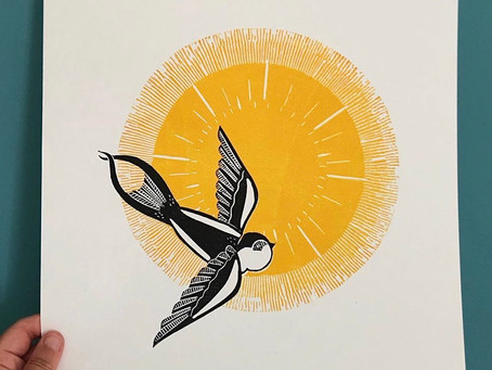 Meet the printmaker - Lucy Dinata Prints
