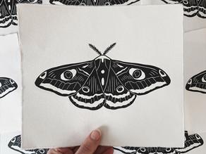Meet the printmaker - Evelien van de Laar
