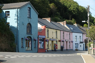 Solva shops near the harbour