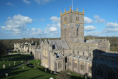 St. David's Cathedral makes this the smallest City - possibly in Europe