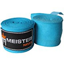 "Meister Adult 180"" Semi-Elastic Hand Wraps for MMA & Boxing (Pair) - All Colors"