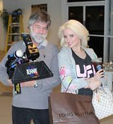 Philip Marcus and Holly Madison