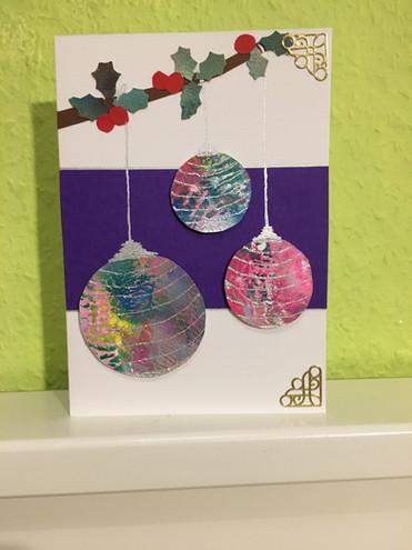Design 1 Christmas Balls