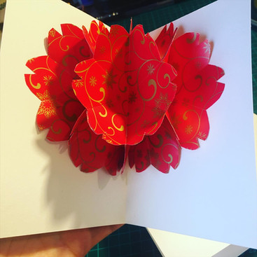 Pop Up Flower Power Cards